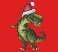 Tyrannosaurus Christmas One Piece - Short Sleeve