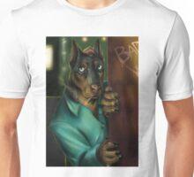 Detective Doberman Unisex T-Shirt
