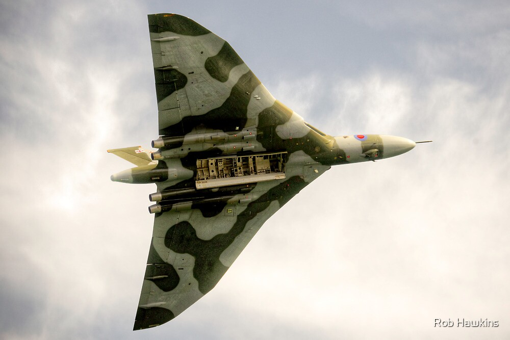 The Vulcan Bomber  by Rob Hawkins