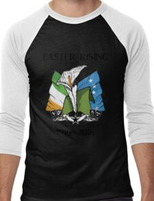 The Lily, Plough and Tricolour Men's Baseball ¾ T-Shirt