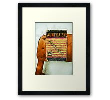 Aunt Daisy's Cookery No 4 Framed Print