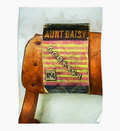 Aunt Daisy's Cookery No 4 Poster