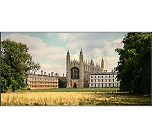 Kings College Chapel Photographic Print