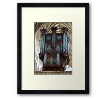 Voice of Thunder - Exeter Cathedral Organ Pipes Framed Print