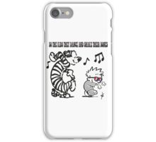 So the kids they dance... iPhone Case/Skin