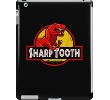 Sharp Tooth T-Shirt (Jurassic Park) iPad Case/Skin