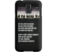 Band of Brothers - Airborne Infantry Samsung Galaxy Case/Skin