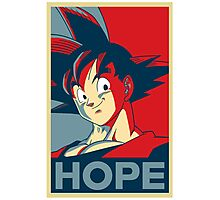 goku is our only HOPE! Photographic Print