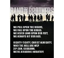 Band of Brothers - Airborne Infantry Photographic Print