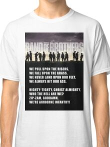 Band of Brothers - Airborne Infantry Classic T-Shirt