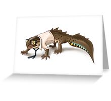 Call Me Newt Greeting Card