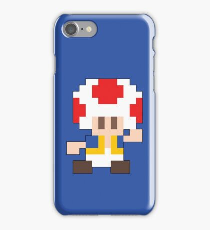 Super Mario Maker - Toad Costume Sprite iPhone Case/Skin