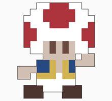 Super Mario Maker - Toad Costume Sprite Kids Tee