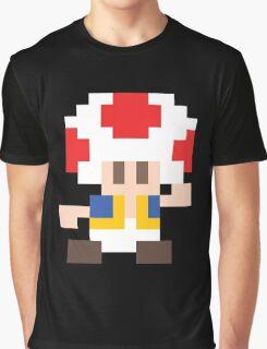 Super Mario Maker - Toad Costume Sprite Graphic T-Shirt