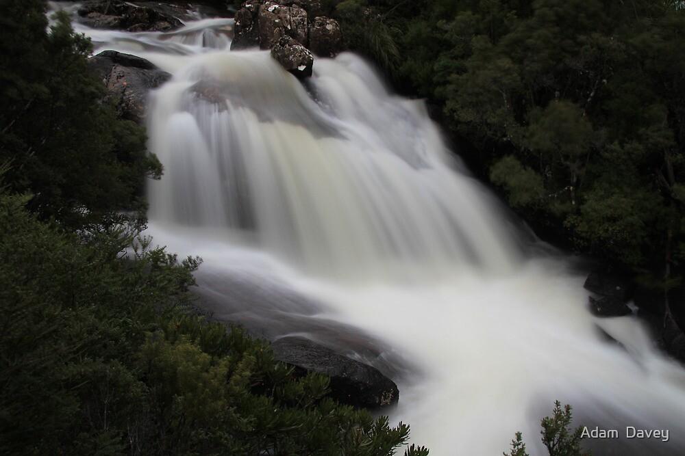 Arve Falls by Adam  Davey