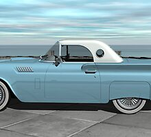 1957 Ford Thunderbird by Walter Colvin