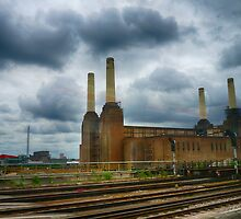 Battersea by Train by Mark Bowden