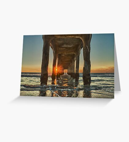 The Last Sun of 2012 Greeting Card