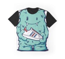 Green Tosca Monster shoes Art Design Monster Graphic T-Shirt