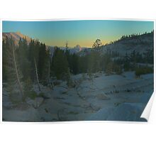 Half Dome In The Distance Poster