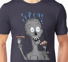 Bacon or Brains Zombie Unisex T-Shirt