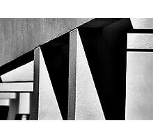 Angles and Shadows Photographic Print