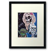 Star Wars Sugar Skull Framed Print