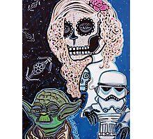 Star Wars Sugar Skull Photographic Print