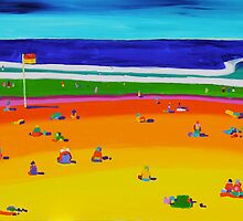 At the beach by Kerry  Thompson