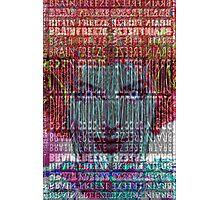 Brain Freeze Photographic Print