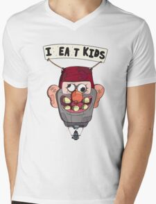 gravity falls i eat kids balloon  Mens V-Neck T-Shirt