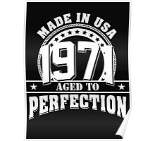 1971 aged to perfection Poster