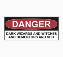 DANGER: DARK WIZARDS AND WITCHES AND DEMENTORS AND SHIT by Bundjum