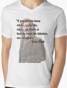 Sirius telling the truth  Mens V-Neck T-Shirt