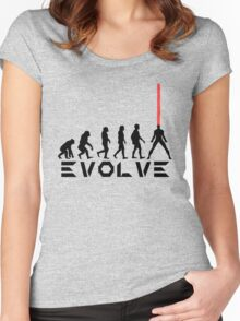 Evolution of X-Man - Cyclops Women's Fitted Scoop T-Shirt