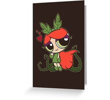 Poison Puff Greeting Card