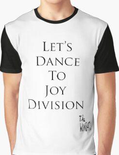 Let's Dance To Joy Division - The Wombats & Joy Division T-Shirt Graphic T-Shirt