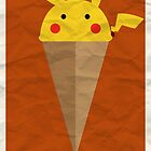 Pikachu Butter Cup by Adam Grey