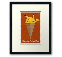 Pikachu Butter Cup Framed Print