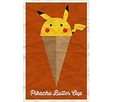 Pikachu Butter Cup Photographic Print