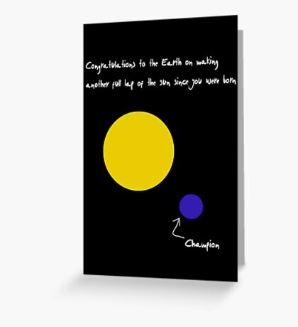 Congratulations to the Earth Greeting Card
