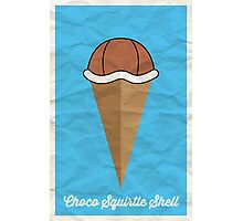 Choco Squirtle Shell Photographic Print