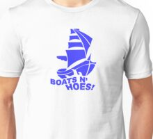 BOATS N HOES Cool Step Brothers Funny and Hilarious Unisex T-Shirt