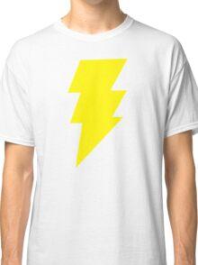 Captain Marvel Shazam Mens Red Geek Chic Retro Classic T-Shirt