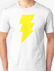Captain Marvel Shazam Mens Red Geek Chic Retro Unisex T-Shirt