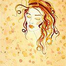 Feminine Intuition no. 1 by Lisa Frances Judd~QuirkyHappyArt