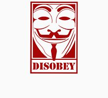 Disobey Anonymous Guy Fawkes Hacking Hackers Fawke Mask Mens  Unisex T-Shirt
