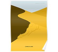 Camelflage Poster