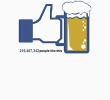 Facebook Parody Beer Thumbs Up - People Like This Unisex T-Shirt