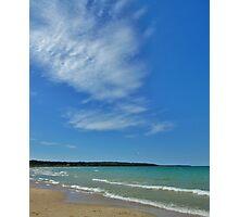Clouds, Beaver Island, MI Photographic Print